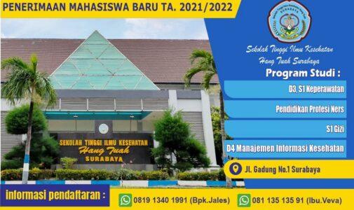 PENDAFTARAN MAHASISWA BARU TA. 2021 – 2022