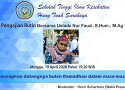 Pengajian Rutin Online Bersama Ustadz Nur Fauzi. S.Hum., M.Ag (19 April 2020)