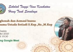 Istighosah dan asmaul husna online bersama ustadz setiadi S.Kep.,Ns.,Mkep (07 Mei 2020 )