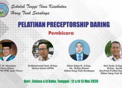PELATIHAN PRECEPTORSHIP STIKES HANG TUAH SURABAYA