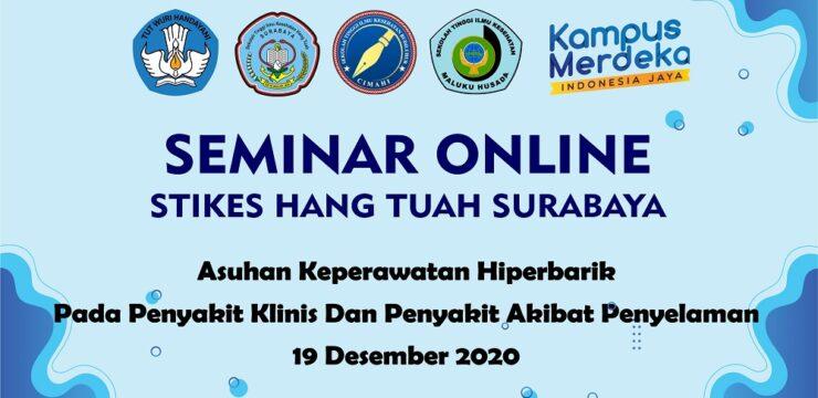 Seminar Online Asuhan Keperawatan Hiperbarik Pada Penyakit Klinis Dan Penyakit Akibat Penyelaman 19 Desember 2020