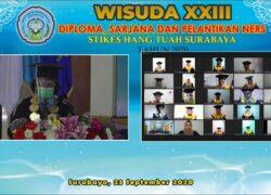 WISUDA XXIII ONLINE 2020