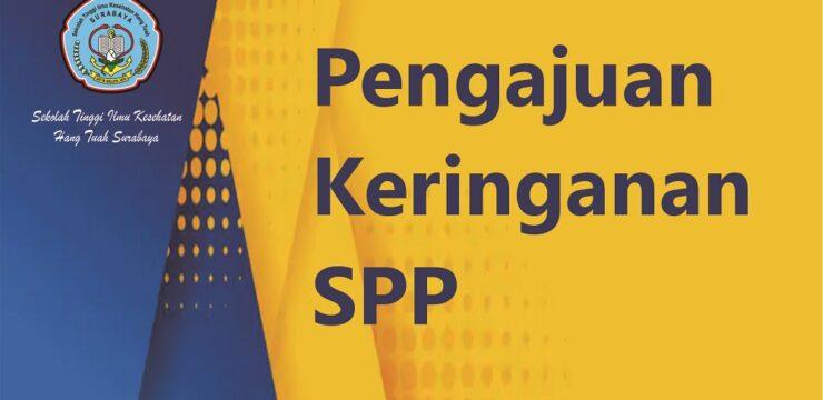 Pengajuan Permohonan Keringanan Biaya SPP Semester Genap TA. 2020/2021