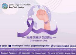 Hari Kanker Sedunia 04 Februari 2021
