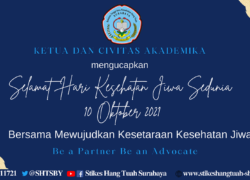 Selamat Hari Kesehatan Jiwa Sedunia 10 Oktober 2021